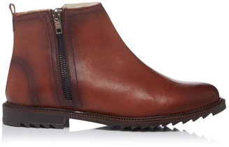 Bertie Prestley Shearling Lace Up Boots