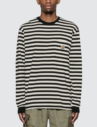 Carhartt Work In Progress Scotty Pocket Long Sleeve T-Shirt