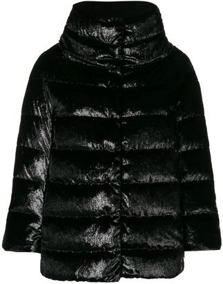 Herno Velvet Puffer Jacket