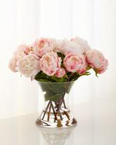 John-Richard Collection John Richard Collection Peonies N Pink Faux-Floral Arrangement