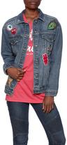 Sneak Peek Embellished Denim Jacket