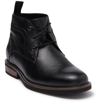 Nunn Bush Ozark Leather Plain Toe Chukka Boot - Wide Width Available