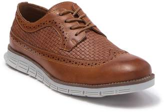 X-Ray Xray Casual Woven Wingtip Lace Up Derby