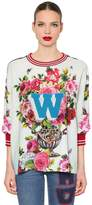 Dolce & Gabbana Floral Cady Sweatshirt