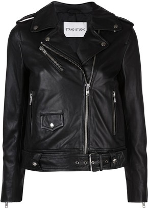 Stand Studio Polly Leather Motorcycle Jacket