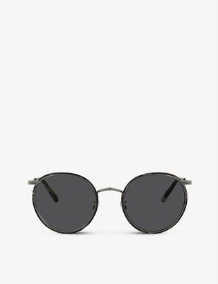 Oliver Peoples OV1269ST 49 Casson titanium sunglasses
