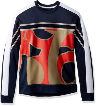 Perry Ellis Men's Abstract Printed Sweater