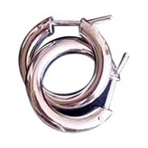 Thumbnail for your product : H.Stern Metallic White gold Earrings