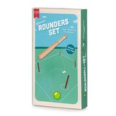 Graham and Green Wooden Rounders Set