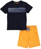 "Nautica Little Boys' ""Crashing Waves"" 2-Piece Outfit"