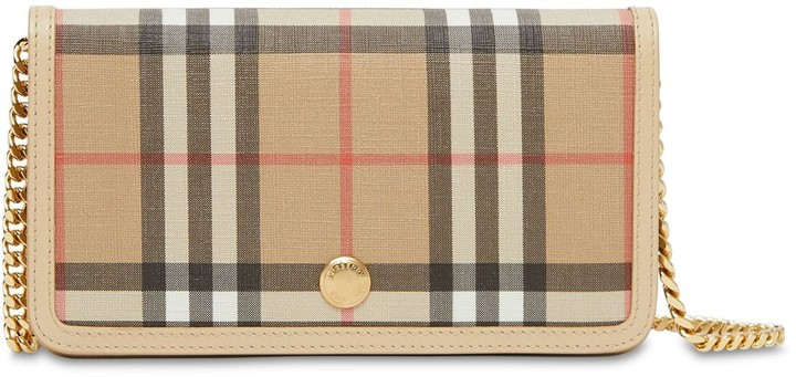 Burberry VINTAGE CHECK TECHNO IPHONE CASE