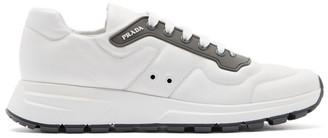 Prada White Sport Sneakers