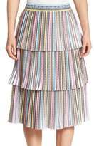 Mary Katrantzou Baccarat Tiered Skirt