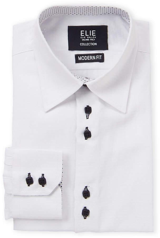 b503b6173 White Button Shirt Boy Fit - ShopStyle