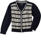 Nautica Boys' Striped Cardigan