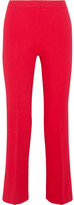 Giambattista Valli Cropped Stretch-crepe Flared Pants - IT38
