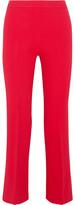 Giambattista Valli Cropped Stretch-crepe Flared Pants - IT42