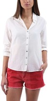 L'Agence Hana Tie Back Button Down Shirt (Women's)