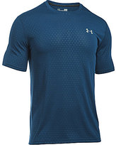 Under Armour Threadborne Embossed Short-Sleeve Tee