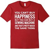 Men's T Shirt for Women who Love to SEW, & Sewing Machines Small