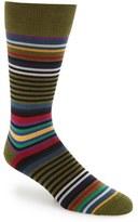 Paul Smith Men's 'Twisted Bright' Stripe Socks