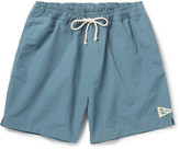 Mollusk Mid-Length Cotton-Blend Faille Swim Shorts