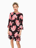 Kate Spade Rosa ruffle shift dress