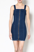 day and night Fitted Denim Dress