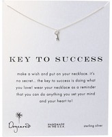 """Dogeared Key To Success Necklace 16"""""""