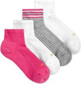 Hue Women's 4-Pk. Air Cushion Quarter-Top Socks