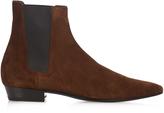 Saint Laurent Devon suede chelsea boots
