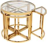 CAFE Lighting & Living Deco Luxe Sunset Side Table (Set of 5)