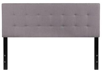 Hashtag Home Fomo Panel Headboard Size: Twin, Color: White