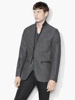 John Varvatos Water Resistant Nylon Jacket