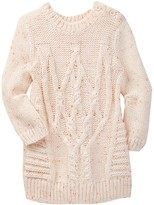 Joe Fresh Cable Knit Wool Dress (Baby Girls 3-12M)