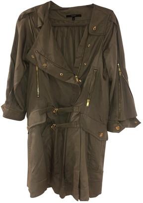 Gucci Khaki Silk Coat for Women
