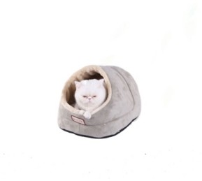 Armarkat Faux Suede Cat Bed and Cave