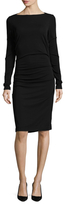 Nicole Miller Solid Jersey Dress