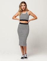 Volcom Futures Past Womens Midi Skirt