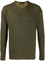 Roberto Collina long-sleeved striped shirt