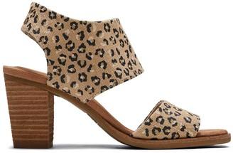 Toms Natural Cheetah Majorca Sandal