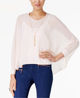 Thalia Sodi Dolman-Sleeve Necklace Top, Created for Macy's