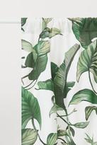 H&M 2 Pack Cotton Curtain Panels - White