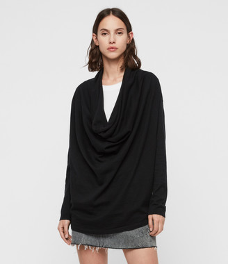 AllSaints Remmy Cowl Neck Sweater
