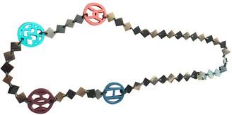 Hermã ̈S HermAs Brown Horn Long necklaces