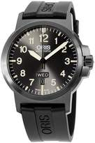 Oris Men's 42mm Black Silicone Band Steel Case Automatic Dial Analog Watch 73576414263RS