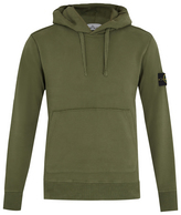 Stone Island Hooded cotton sweatshirt