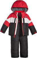 London Fog 2-Pc. Colorblocked Snowsuit, Little Boys (4-7)