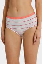 Bonds NEW 'Cottontails' Stripe Full Brief WZSX Baby Pink