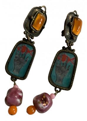 Philippe Ferrandis Multicolour Metal Earrings